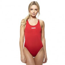 ARENA SOLID SWIM TECH RED